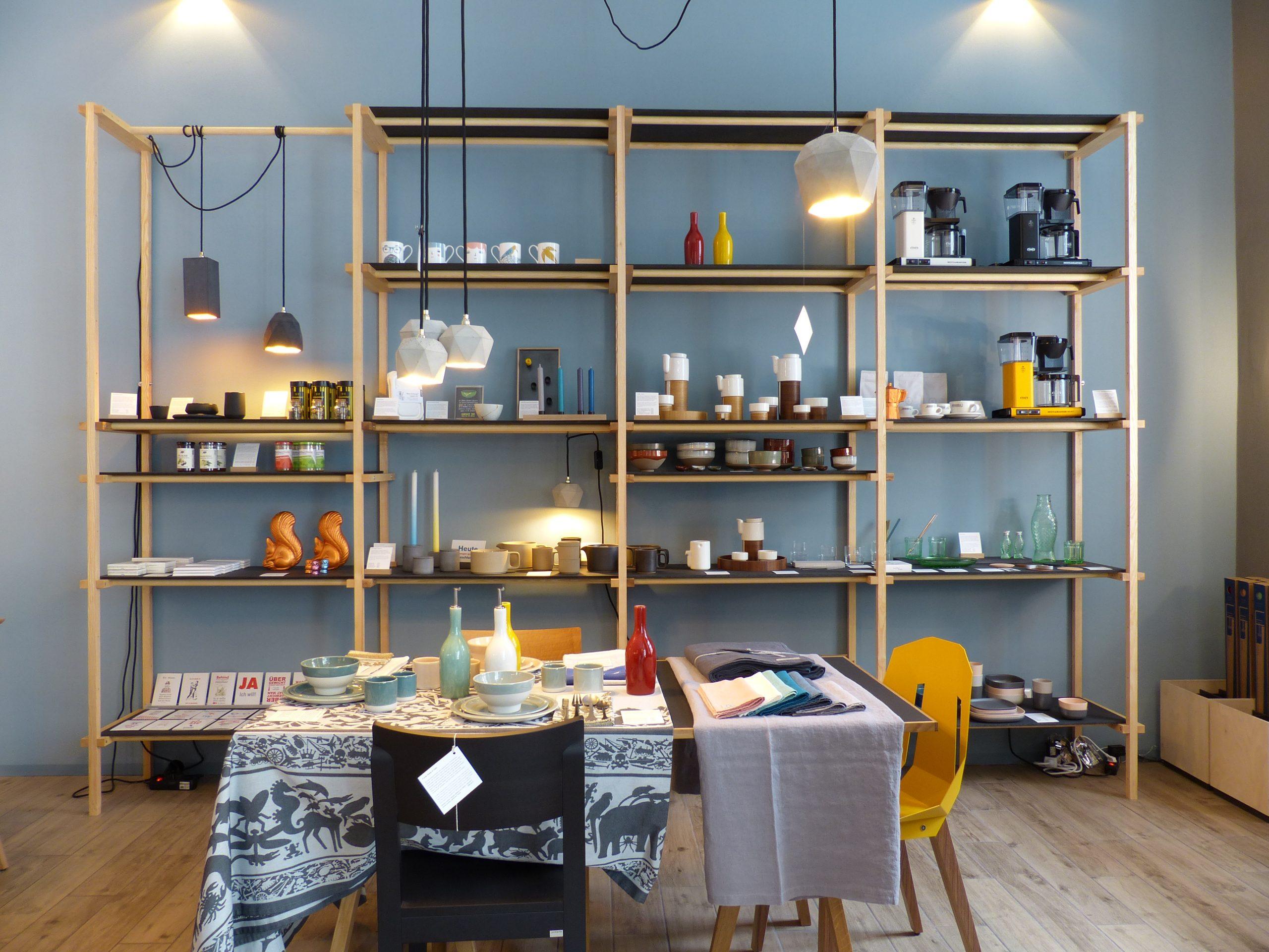 Shopsystem für den Conceptstore HEIPL Berlin